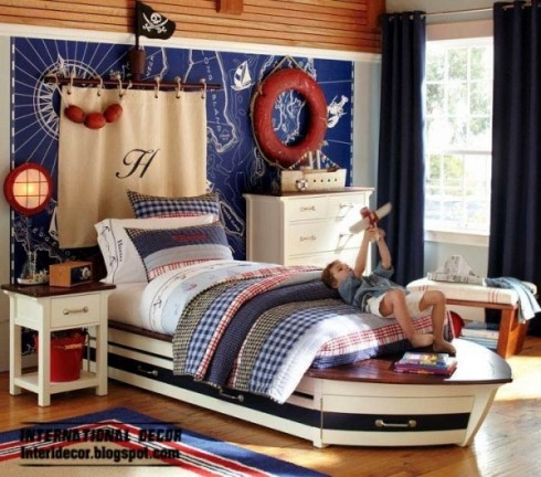 boat-bed-marine-style-children-room-theme-600x529