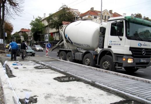 Подово отопление на спирките в Бургас