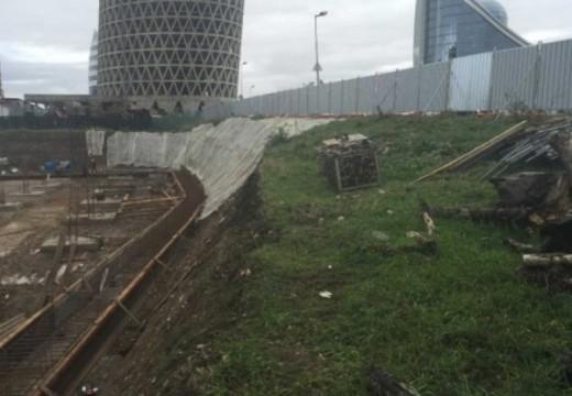 Нов строеж провокира свлачище на Цариградско
