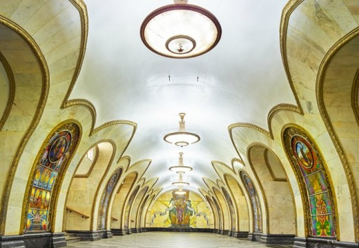 Руското метро – произведение на изкуството