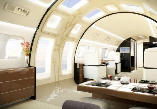 Самолет за живеене