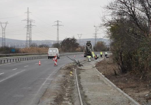 Бургас продължава строежа на велоалея към Пода