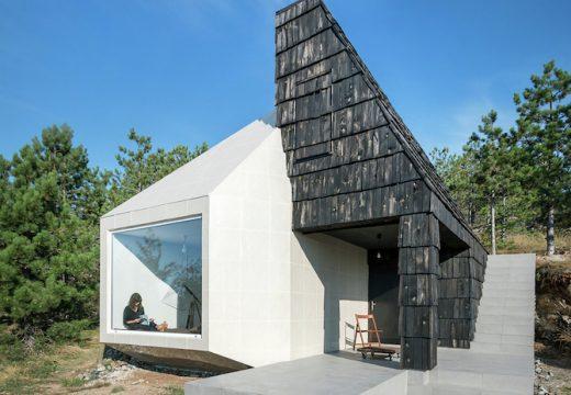 Асиметрична къща в Сърбия