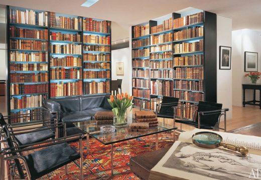 25 дизайнерски домашни библиотеки за ценители