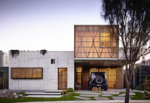 Уютна къща от бетон