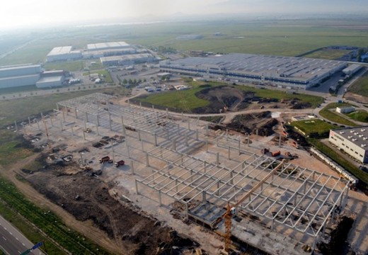 Строителство на 4 предприятия край Пловдив