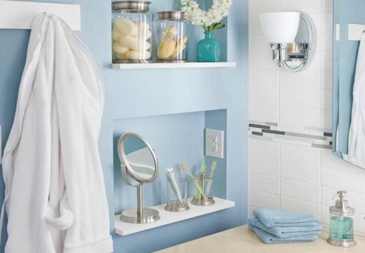 40+ идеи за разумно използване на малкото пространство в банята