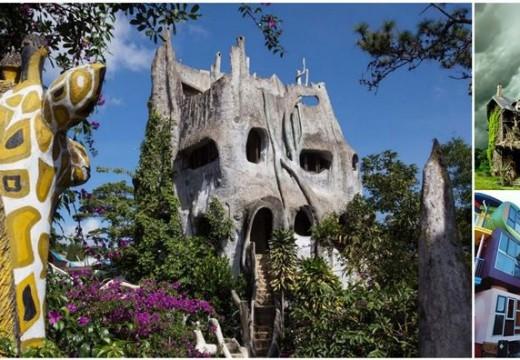 Странни къщи по света. Меко казано!
