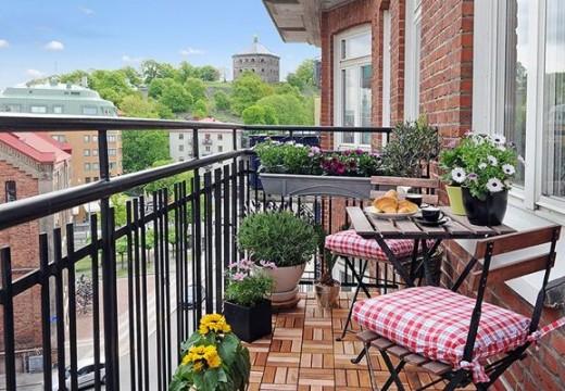 39 идеи за малки балкони