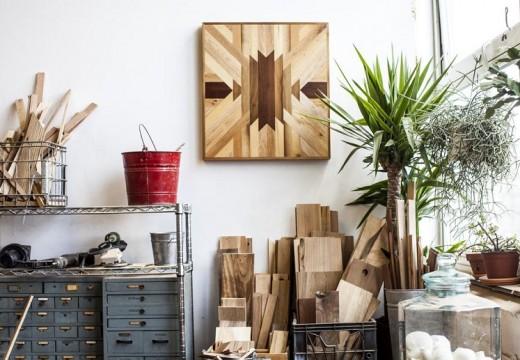Дизайнерски маси от рециклирано дърво