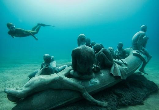 Изложба – изкуствен риф на дъното на океана