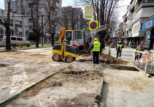 25 дка улици и тротоари ремонтират във Варна
