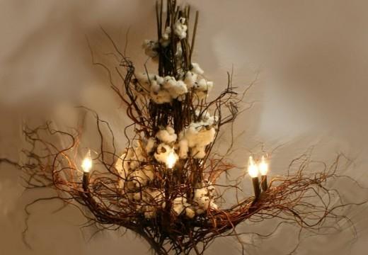 Нека бъде светлина – 33 идеи за свещници и лампи от дърво