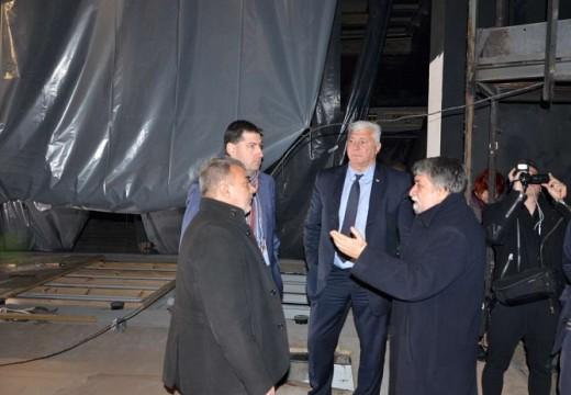 Ремонтът на Пловдивския театър приключва до 20-ти май
