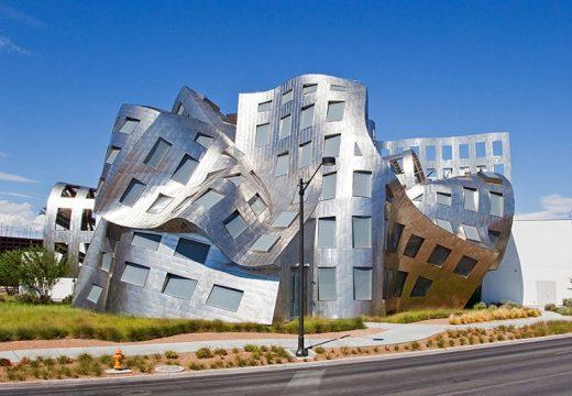 28 зрелищни сгради от Франк Гери