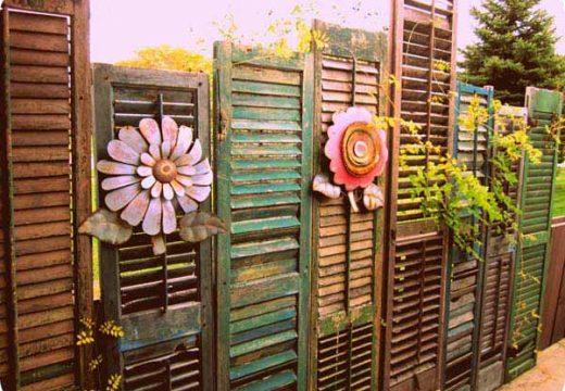 Няколко идейки за огради и оградки
