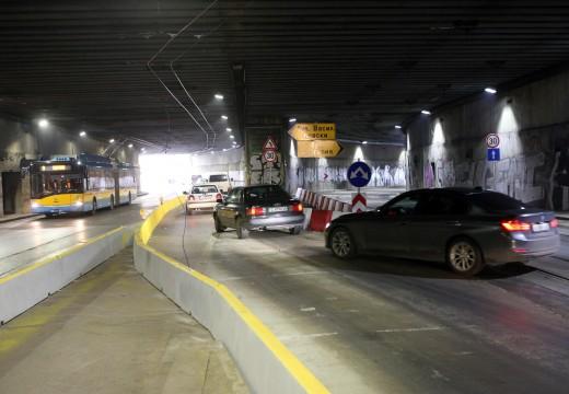 Нова вентилация в тунела под НДК