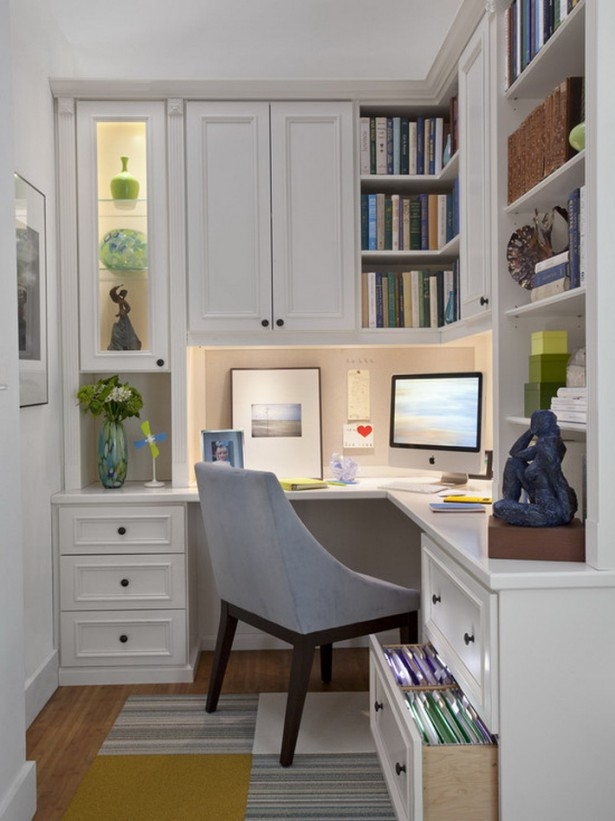 Captivating-Corner-Desk-for-Small-Home-Office-with-White-Cabinet-and-Chic-Rug-Ideas-615x821