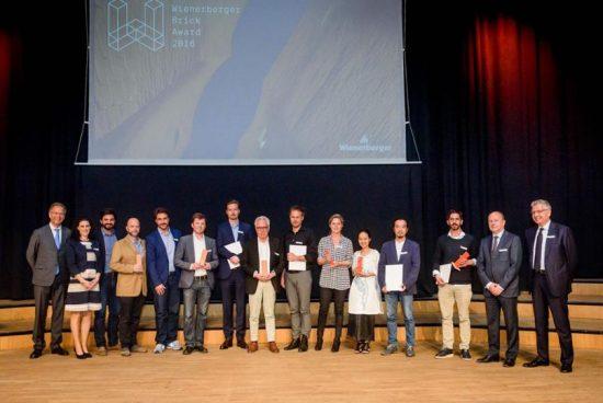 Раздадоха наградите Wienerberger Brick Award