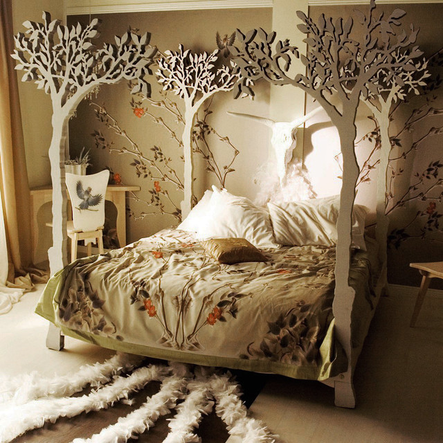 eclectic-canopy-beds