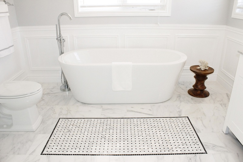 floor-design-incredible-white-bathroom-design-with-white-marble-basketweave-tile-bathroom-floor-including-free-standing-white-bathtub-and-white-ceramic-toilet-beautiful-white-marble-basketweave-tile-f