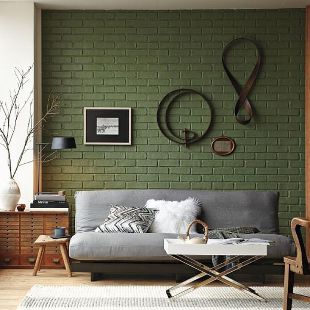Brick-Wall-Accent-Color-Green