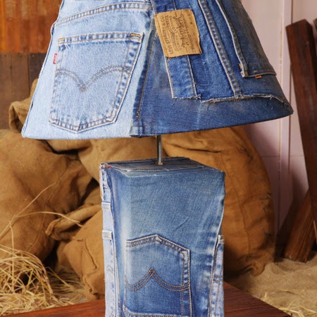 Denim-Lamp
