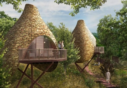 Къщи като птичи гнезда ни свързват с природата