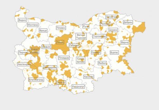 Покриват 90% от страната с кадастрална карта