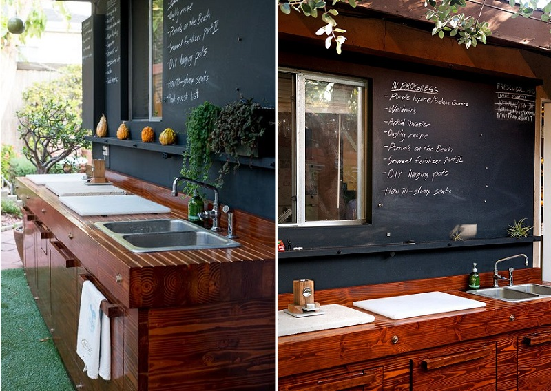 outdoor-kitchen-chalkboard-wall