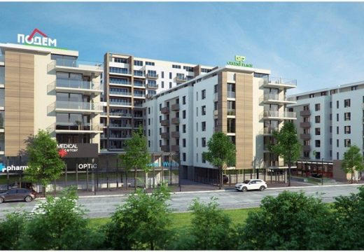 Стартира строителство на луксозен жилищен комплекс в Пловдив