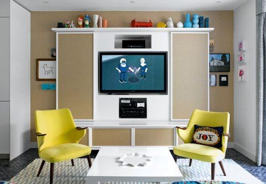 """20+ идеи как да """"скрием"""" телевизора в хола"""