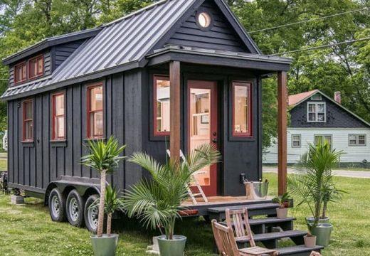 Малък подвижен дом притежава всички удобстава на голяма къща