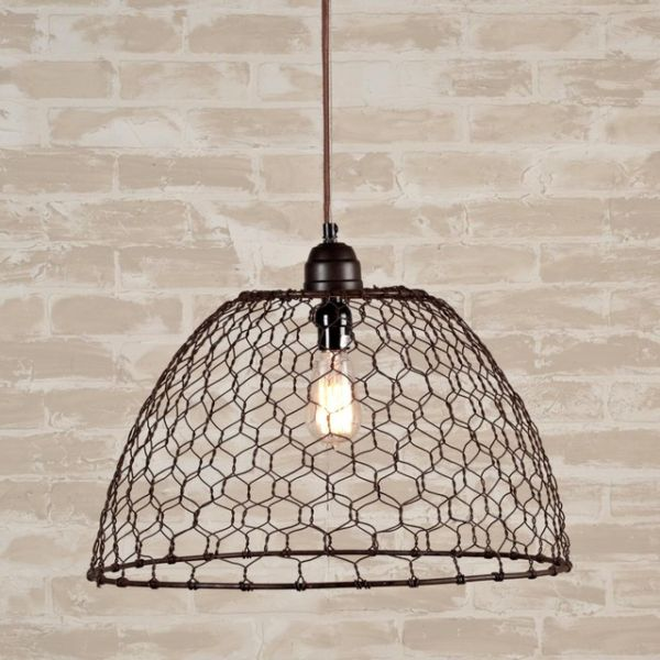 chicken-wire-pendant-lighting