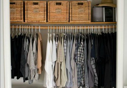 15+ хитрини за добре подреден гардероб