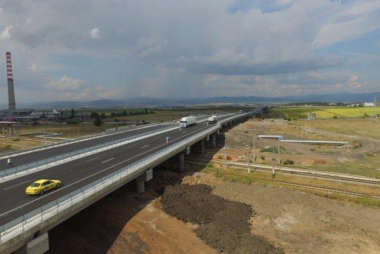 Пускат за движение участък от Западната дъга на Софийския околовръстен път