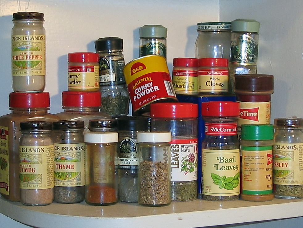 Spice-shelf
