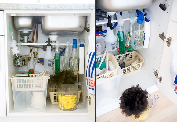Tension-Rod-Uses-to-Keep-Home-Organized-Organize-Cleaning-Supply-Under-Sink