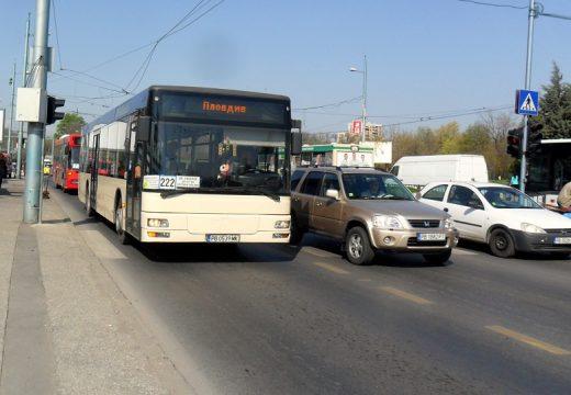 Променят маршрутите на пет автобуса в Пловдив