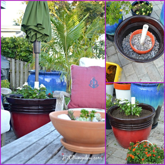 fabartdiy-DIY-PVC-Umbrella-Planter-Stand