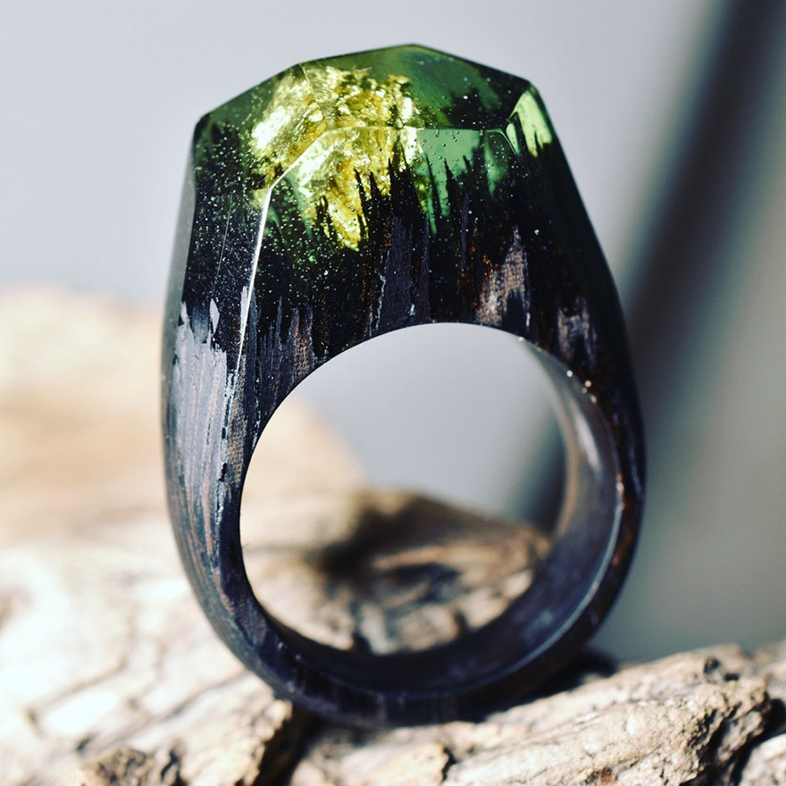 resin-rings-miniature-scenes-secret-forest-1