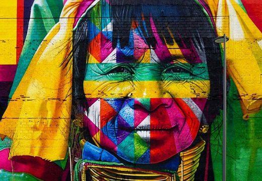 Най-големият стенопис в света е по случай Олимпиадата в Рио