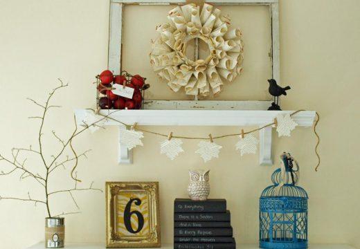 40+ идеи за есенна декорация с клони и листа