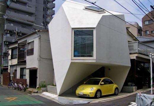 50+ примера, че японската архитектура е извънземна