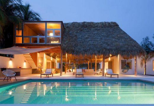 Плажна къща е като извадена от мечтите