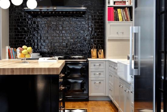 50 идеи за кухни в черно