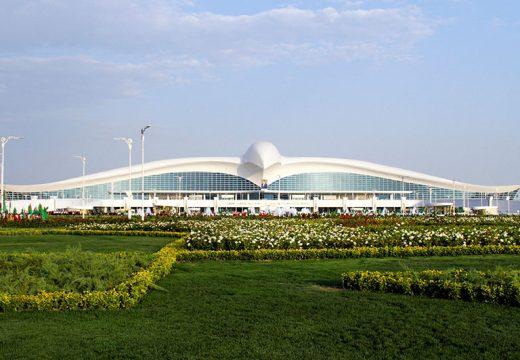 Туркменистан се сдоби с луксозно летище… с формата на сокол!