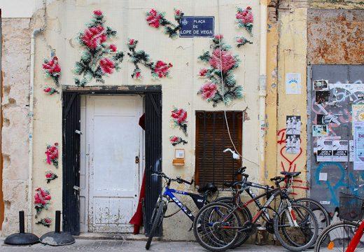 Цветни и красиви фасади като гоблен