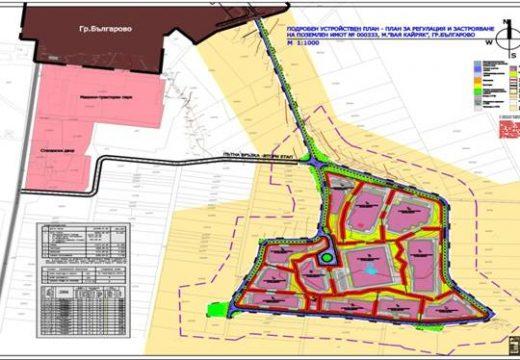 Строят път между Българово и индустриалната му зона