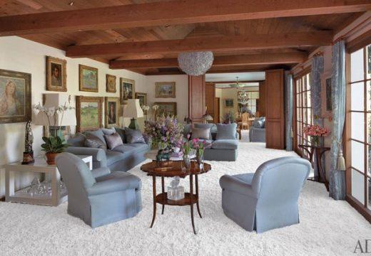 Домът на Елизабет Тейлър – неповторим уют